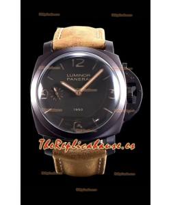 Panerai Luminor 1950 3 Days PAM00375 Composite Cased Vintage Edition Reloj Réplica Suizo