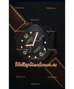 Panerai Luminor Marina PAM661 Carbotech Reloj Replica Escala 1:1