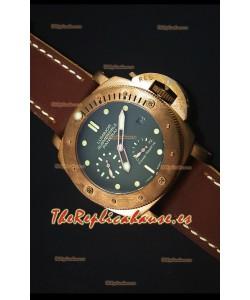 Panerai Luminor Submersible PAM00507 Bronzo Reloj con Indicador de Energía