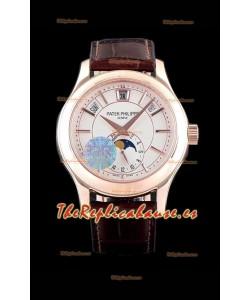 Patek Philippe 5205R-001 Complications MoonPhase 1:1 Mirror Reloj Réplica Suizo