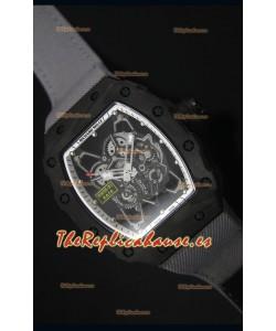 Richard Mille RM35-01 Reloj Replica Suizo Edición Rafael Nadal Correa de Nylon color Gris