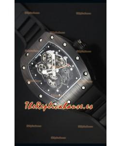 Richard Mille RM055 Reloj con Caja en Cerámica con parte Interna del Bisel en Negro
