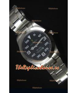 Rolex Oyster Perpetual 116900 AIR KING Reloj Replica Suizo Dial en Negro