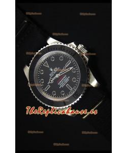 Rolex Submariner Stealth MK IV Reloj Replica Suizo de Acero Inoxidable Marcadores de Hora Negros