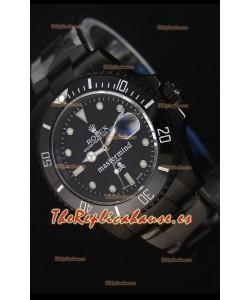 Rolex Submariner 114060 Reloj Replica Suizo a Espejo 1:1 Edición Mastermind
