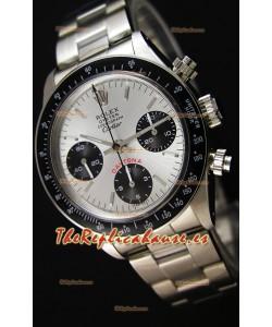 Rolex Daytona Vintage 6263 para Edición Réplica Suiza CARTIER - Reloj de Acero 904L