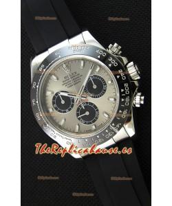 Rolex Cosmograph Daytona 116519LN Movimiento Original Cal.4130 - Reloj de Acero 904L Mejorado y Actualizado