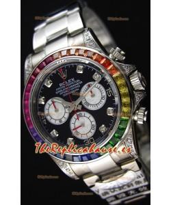 Rolex Cosmograph Daytona 116509 Cal.4130 Movement - Réplica a Espejo 1:1 Reloj de Acero Inoxidable 904L