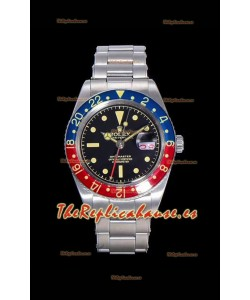 Rolex GMT Master 1675 PEPSI Vintage Edition Reloj Réplica Suizo