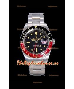 Rolex GMT Master 16710 COKE Vintage Edition Reloj Réplica Suizo