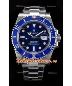 Rolex Submariner Ref#126610LB ETA3135 Replica Reloj de Acero 904L Réplica a Espejo 1:141MM