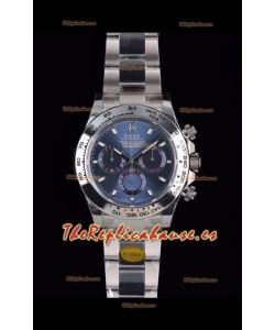 Rolex Daytona 116508 Reloj de Acero 904L a espejo 1:1 - Oro Blanco Movimiento Original Cal.4130