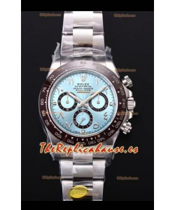 Rolex Daytona 116506 ICE BLUE ARAB Numerals Dial Movimiento Cal.4130 - Reloj de Acero 904L Ultimate