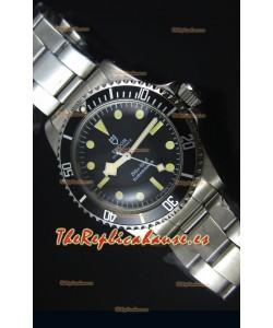 Tudor Oyster Prince Vintage 200M Dial Negro Marcadores en forma de Circulos Reloj Replica Suizo a espejo 1:1