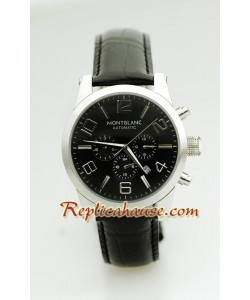 Mont Blanc Réplica Timewalker - Leather Reloj