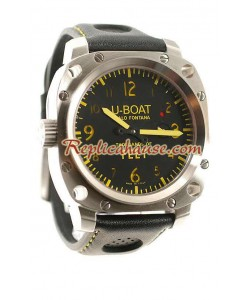 U-Boat Thousy of Feet Reloj Suizo de imitación