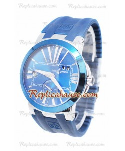 Ulysse Nardin Executive Dual Time Blue Reloj