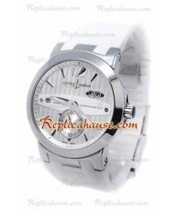 Ulysse Nardin Executive Dual Time White Reloj