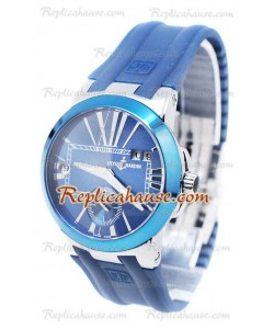 Ulysse Nardin Executive Dual Time Blue Reloj de Dama