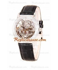 Vacheron Constantin Skeleton Diamonds Reloj Suizo de imitación