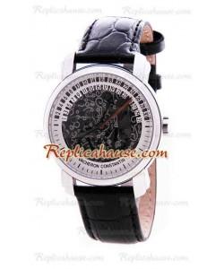 Vacheron Constantin Malte Openface Retrogrye Reloj Suizo